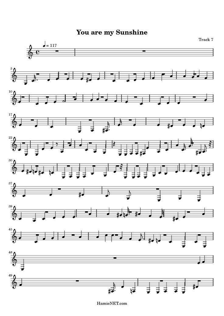 Best Printable Sheet Music Images On   Sheet Music
