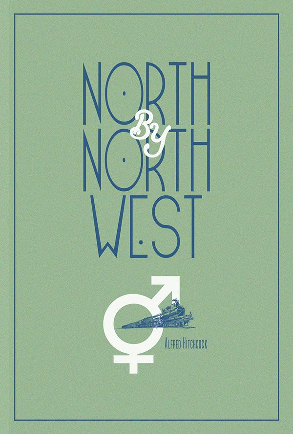Filmdoo North by Northwest Poster on Behance