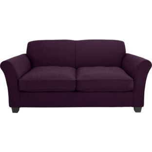 Caitlin Sofa Bed - Plum   Argos £382.49  •Fold out bed mechanism.  •Small double.  •Sofa size H82, W173, D85cm.  •Size as bed: H46, W120, D189cm.  •Size of sleeping area: W114, L180cm.  •Floor to seat height: 50cm.  •Depth of seat: 56cm.  •Height of seat back: 46cm.  •Width of seating area between arms: 133cm.  •Height of arm rest: 65cm.