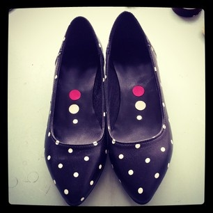 #polka #dots #flats #shoes #love #quotes  @kali_shoes (KALI shoes) s Instagram photos |