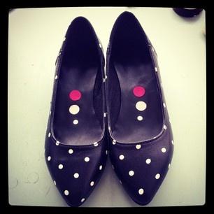 #polka #dots #flats #shoes #love #quotes  @kali_shoes (KALI shoes) s Instagram photos |