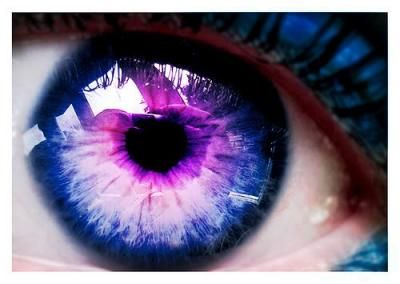 Galaxy contacts.  I would never wear them, but wow they are something!