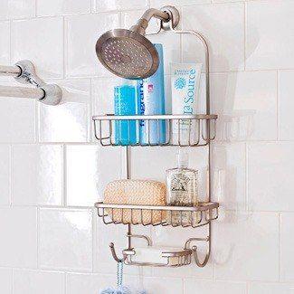 25 melhores ideias de chuveiro cromado no pinterest for Organizador para ducha