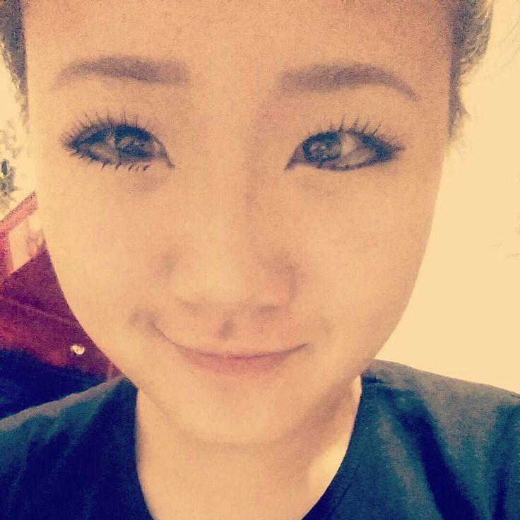 From yesterday derp #asian #asiangirl #korea #korean #selca #셀카 #koreangirl #ㅋㅋ #ㅇㅈ #여자 #한국 #안녕 #미국 #미국인 #하이 #나 #followme #follow #cosplay #cosplayer #cosplaymakeup #makeup #eyes #눈#koreanmakeup#japanesemakeup