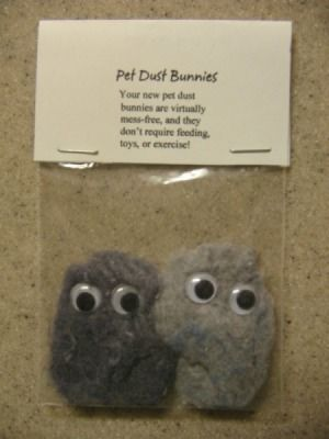 pet dust bunnies craft and other uses for dryer lint - ok maybe not with dryer lint .