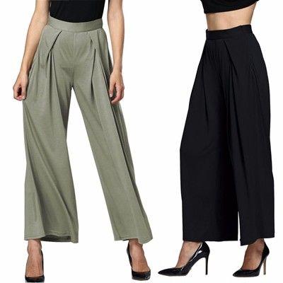 Gorgeous Women Casual High Waist Loose Wide Leg Pants - NewChic