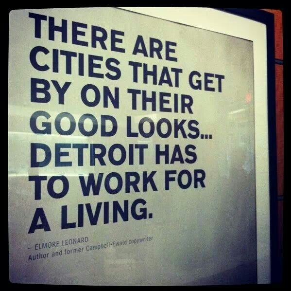 Famous Quotes About Detroit. QuotesGram |Quotes Detroit Mic