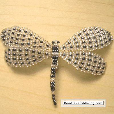 Beaded+Dragonflies+Free+Patterns | ... Back Next Beaded Brooch View All Brooches Beaded Brooch Learn How To