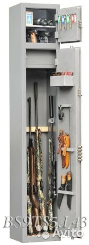 BS-9TS5 L43 Оружейный сейф (шкаф) на 5 ружей