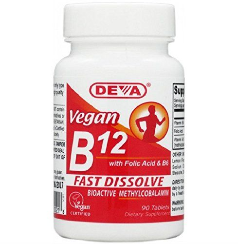 Deva Vegan Vitamins Sublingual B-12, 90 Tablets (Pack of 2) * For more information, visit image link.