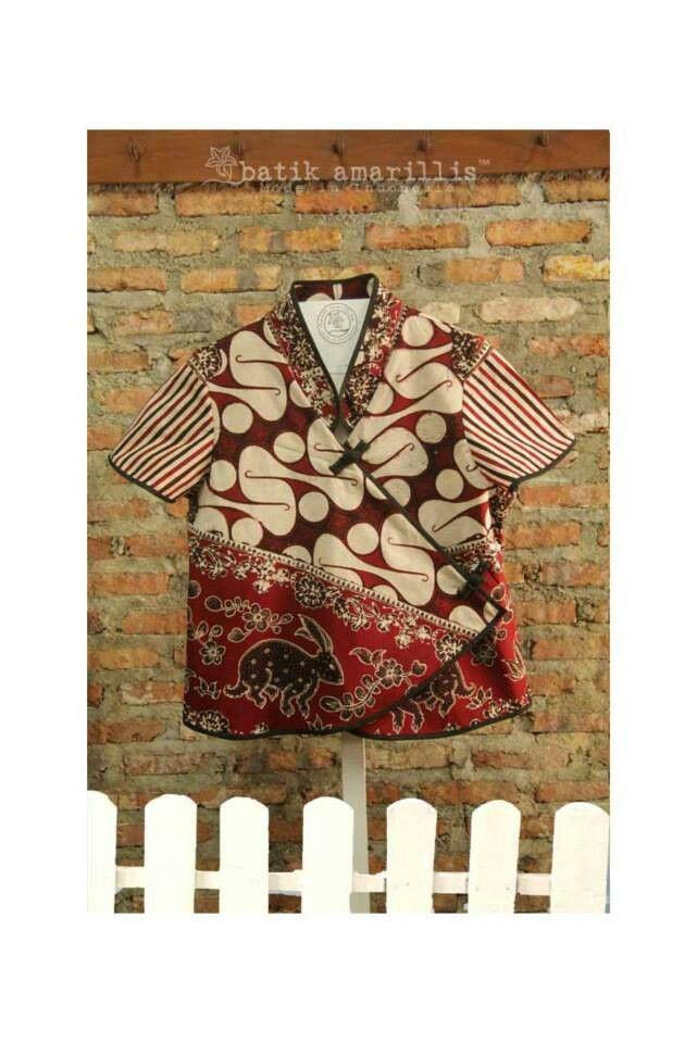 Batik parang kimono