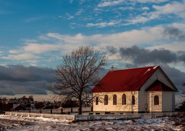 A Church - Aspö island on Archipelago National Park, Finland