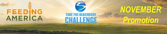 """It's a WIN-WIN Deal! All throughout November Beachbody will DONATE $20 to """"Feeding America"""" for every Challenge Pack purchased. On top of that, Beachbody will give YOU an additional $20 Gift Card that you can use for future Beachbody purchases.  Post by Coach Popsinator Fitness.  What's A Challenge Pack? Click on the Image […]"""