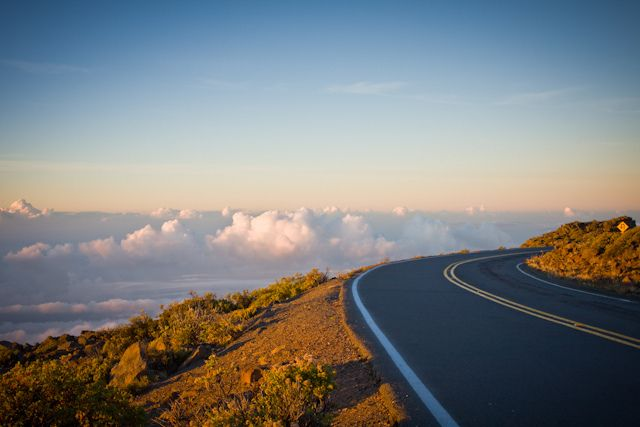 The Winding Road to the Top of Haleakala, Maui Hawai by Denis Dore Photography, via Flickr