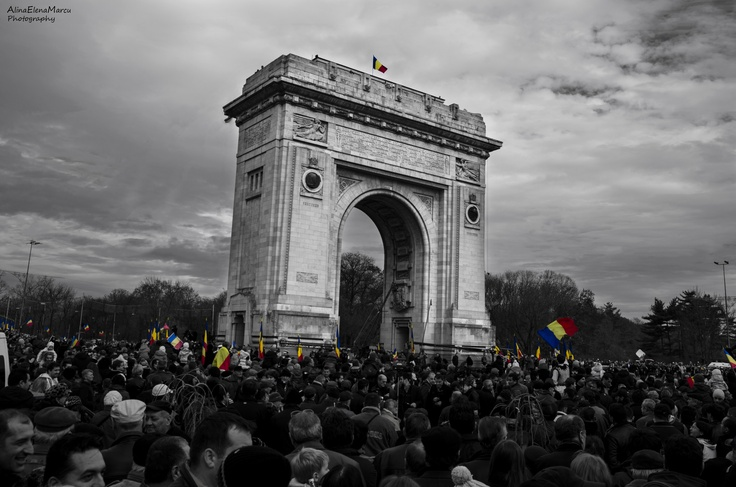 Arch of Triumph, Bucharest, Romania