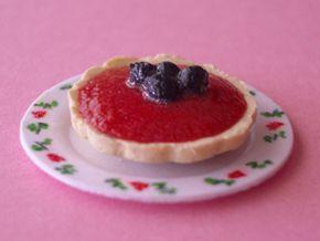 Case in Miniatura - Blackberry Torte  tutorial - Italian