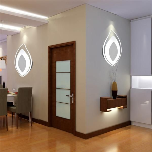 white 5w led bedside lamp wall sconces wl270wh
