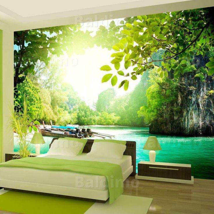 58 besten Fototapeten bei bimago Bilder auf Pinterest Deko ideen - fototapete wald schlafzimmer