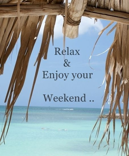 Enjoy Your Weekend! Ready For Holidays #Beach #TGIF