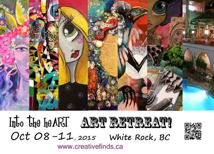 Into the heART Art Retreat Oct 8-11, 2015