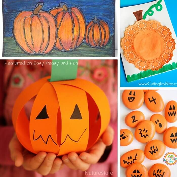 Pumpkin Crafts and Activities for Kids - Easy Peasy and Fun