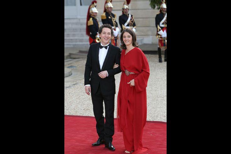 Guillaume Gallienne, grand acteur et son épouse Amandine