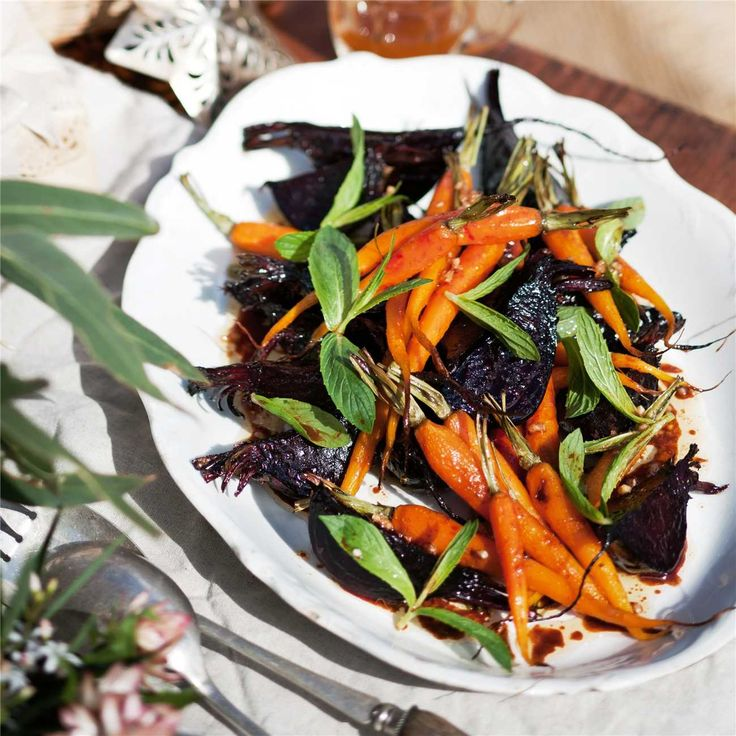 How to make Roast Beetroot & Carrots #Roast #Beetroot #Carrot #Recipe