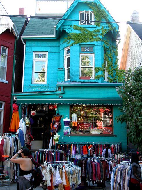 Kensington Market, Toronto, Ontario - I spent the summer of 1978 in Toronto, and we visited Kensington Market several times.