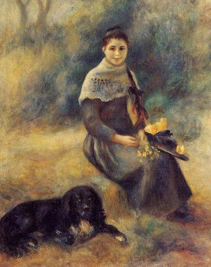 It's About Time: Dogs by Pierre Auguste Renoir (1841-1919)