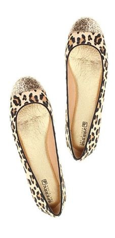 sparkle + animal print? I'm in love!
