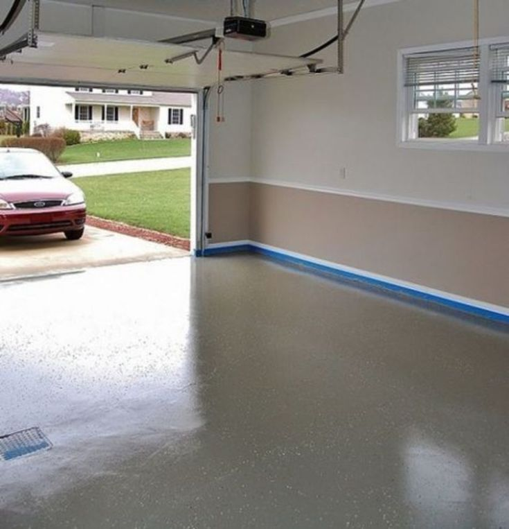 39 How to Update Your Garage Floor with Dark Color