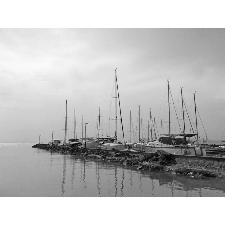 Boats on Lake Balaton 3