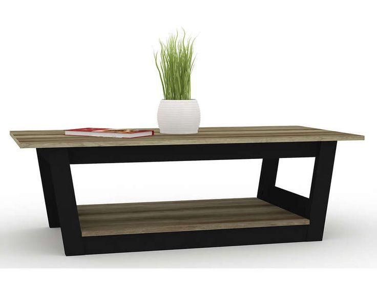 Table Basse Bicolore 552235 Table Basse Table Basse Conforama Decoration Maison