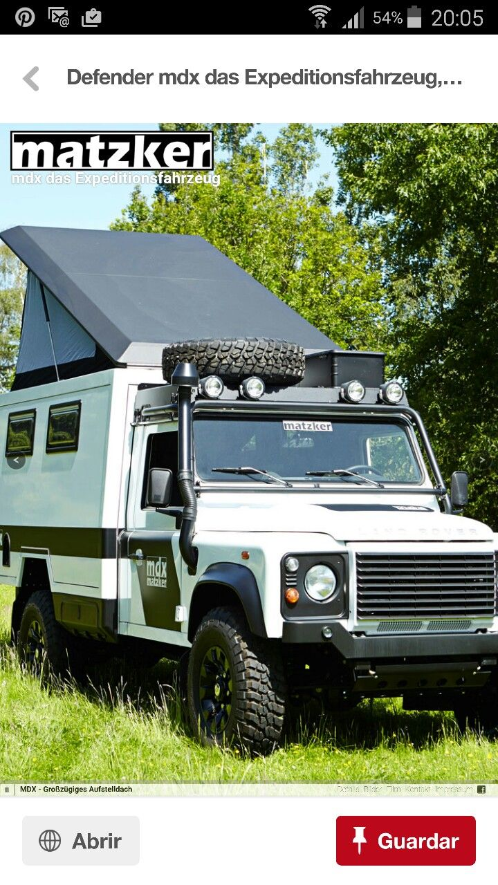 Adventure campersdefender 110range roversoff roadambulancetruckrangescampingroads