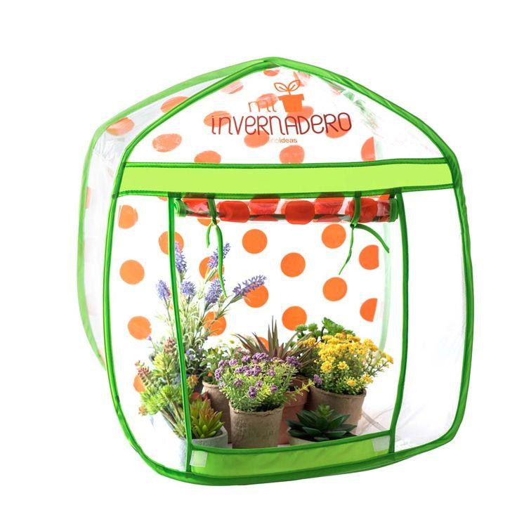 Invernadero pop-up para jugar en el jardín. // Juguetería, CasaIdeas.