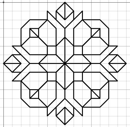 Imaginesque: Blackwork Embroidery: Small Motif & Fill Patterns
