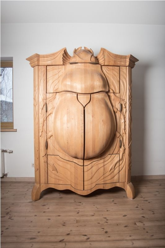 Extraordinary Beetle Closet by Janis Straupe.