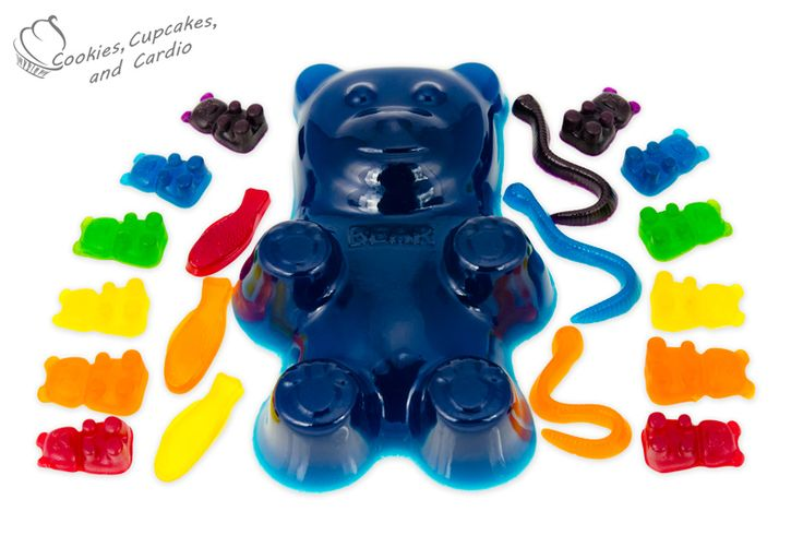 How to Make a Giant Gummy Bear and other Gummy Candy.