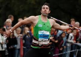 Matthias De Zordo personal best:  87,81