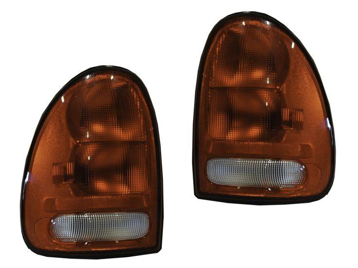 1996-2000 Town&Country/Voyager/Caravan/1998-2003 Dodge Durango Tail Lights Set: TAIL LIGHT TOWN & COUNTRY/… #CarHeadlights #AutoHeadlights