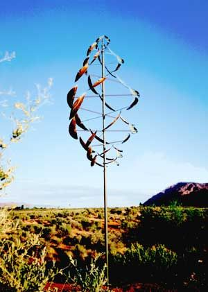 Kinetic Wind Art | Double Dancer Wind Machines available at Hogan Trading Company | Moab ...