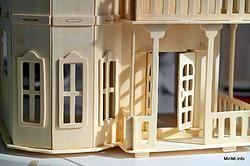 Большой Готический дом/VGA Wooden Toys