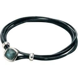 Fred Bennett Labradorite Leather Bracelet #Jewellery