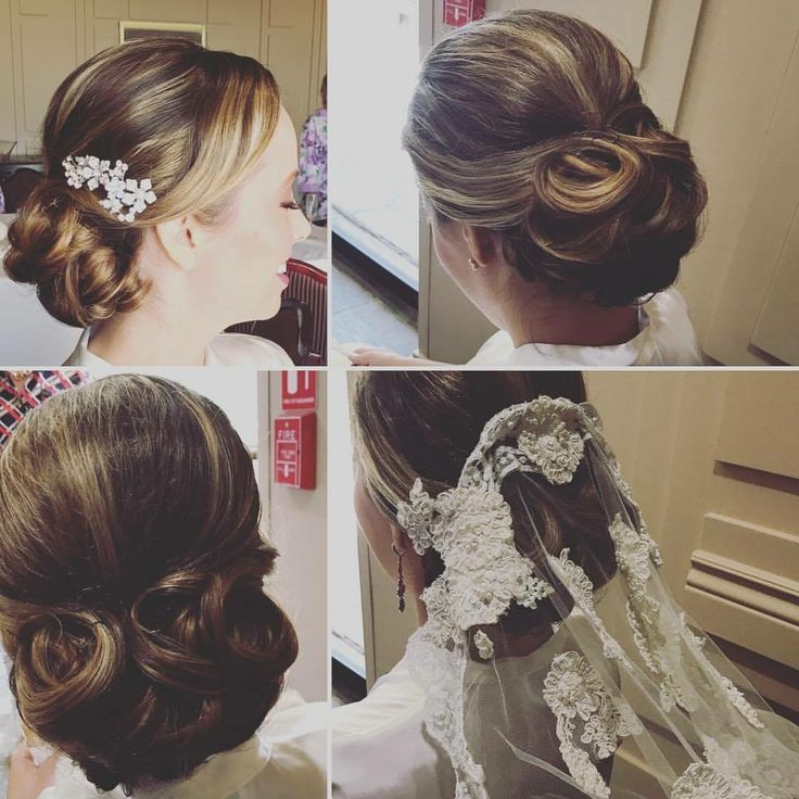 Here are some photos of #bride Jessica's hair. She wore her mother's gorgeous #bridalveil #elegantupdo #bridalupdo #lowbun #classicbridalhair #vintageveil #ocbridalhairmu #lisaleming #dovecanyongolfclub #dovecanyonwedding #kenraprofessional #weddinghairorangecounty #bridalhairoc #rsmmakeupartist #rsmbridalhair