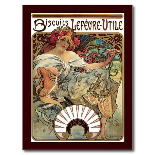 how to make an art nouveau poster on photoshop