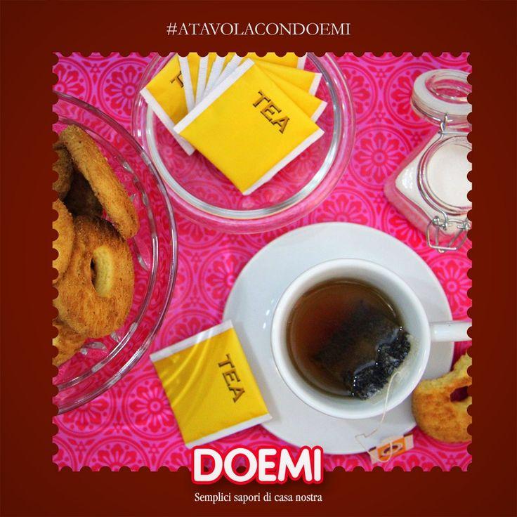 Prenditi una pausa: una tazza di the caldo e Doemi, un grande classico a cui non si può rinunciare <3 #doemi #atavolacondoemi #doemibiscottiditalia