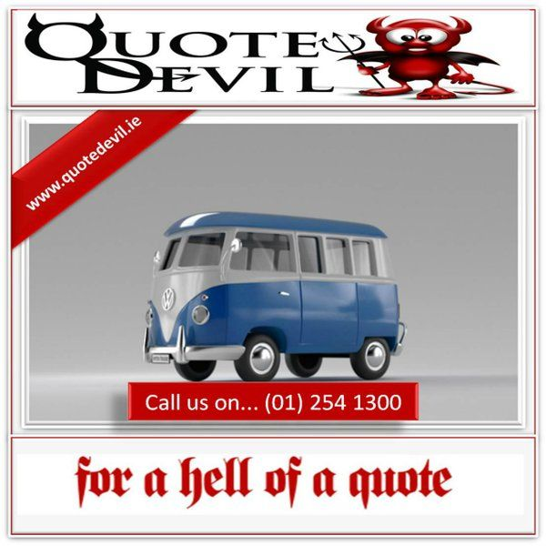Quote Devil Here Seeking To Provide The Best Priced Van Insurance Cover Call Us On... (01) 254 1300 #AD http://ow.ly/Y9O8m