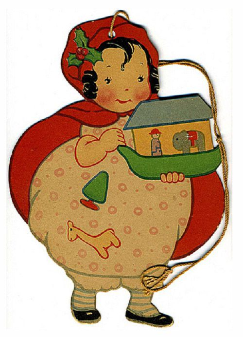 Little Red Riding Hood Hang Tag