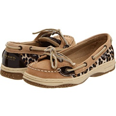 Animal Print Nubuck Sperrys