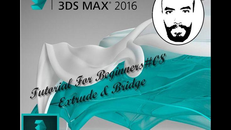 3ds Max Tutorials For Beginners #08 Extrude & Bridge